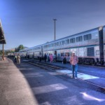 Coast Starlight Northbound at Klamath Falls