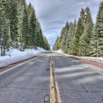 CA highway 89 near Lake Almanor