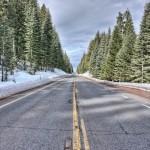 CA highway 89 near Lake Almanor