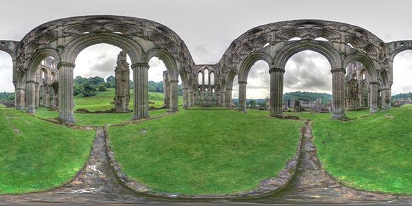 rievaulx abbey – presbytery