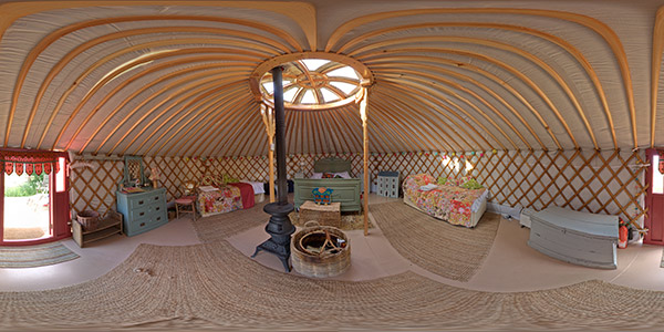 yurt at midland farm